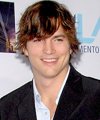 Ashton Kutcher hairstyles