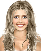 Hairstyle with natural wave