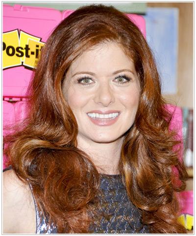 Debra Messing hairstyles