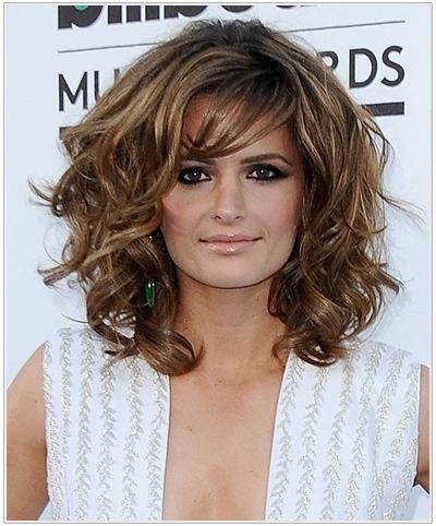 Stana Katic hairstyle