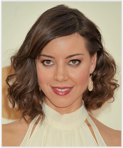 Aubrey Plaza hairstyle