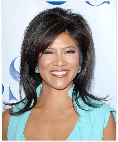 Julie Chen hairstyle