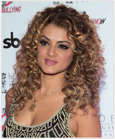 Golnesa Gharachedaghi hairstyle