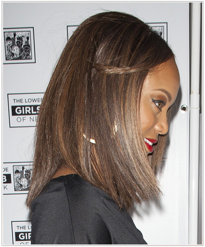 Tyra Banks hairstyle