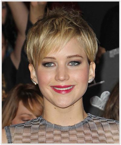 Jennifer Lawrence hairstyle