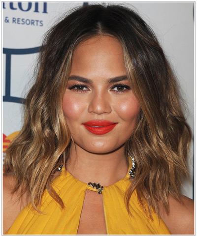 Christine Teigen hairstyles