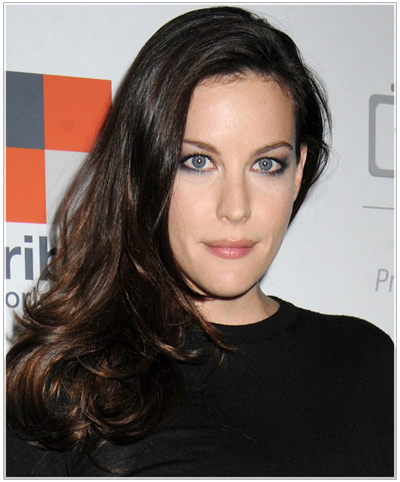 Liv Tyler Hairstyles For Narrow Face Shapes