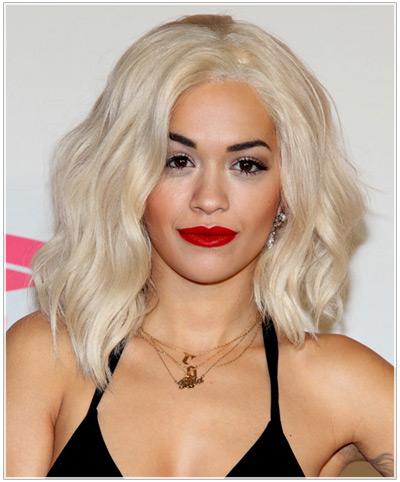 Rita Ora hairstyles