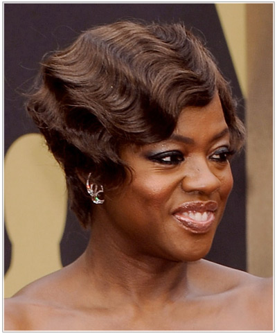 Viola Davis hairstyles