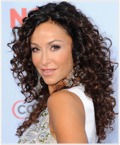 curly hair color styles hairstyle ideas for naturally curly hair 8521