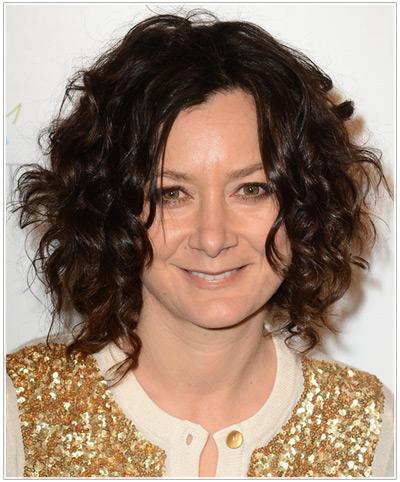 Sara Gilbert hairstyles