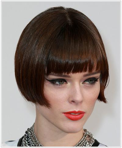 Coco Rocha hairstyles
