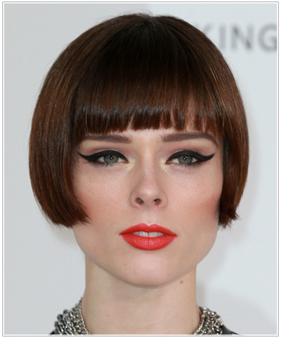 Coco Rocha S Pageboy Bob Hairstyle And Makeup