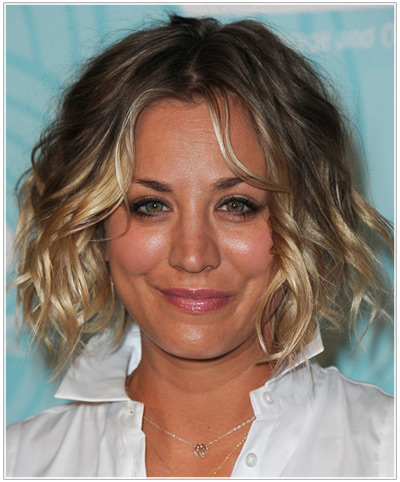 Kaley Cuoco hairstyles