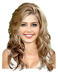 Long wavy hairstyle