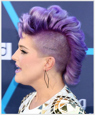 Kelly Osbourne Mohawk hairstyle