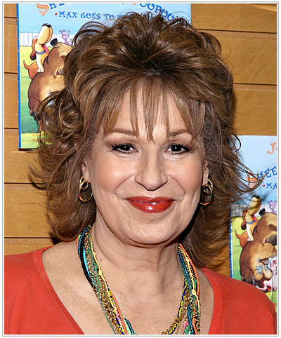 Joy Behar Medium Wavy Hairstyle
