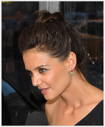 Katie Holmes Updo Hairstyle
