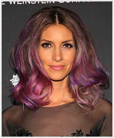 Dawn Olivieri Medium Wavy Hairstyle
