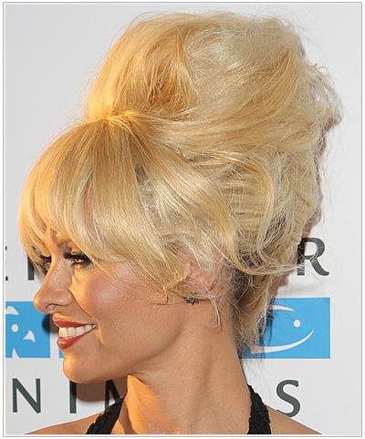 Pamela Anderson Long Straight Halloween Hairstyle