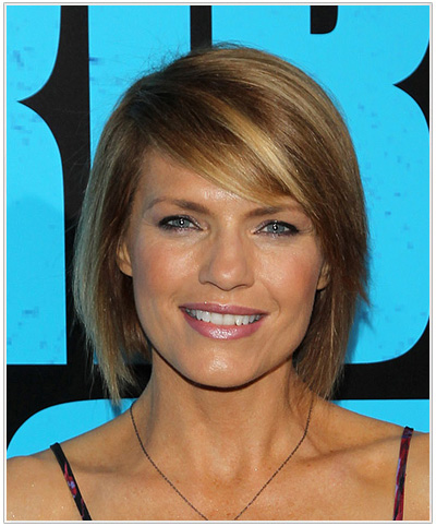Kathleen Rose Perkins Medium Straight Hairstyle.
