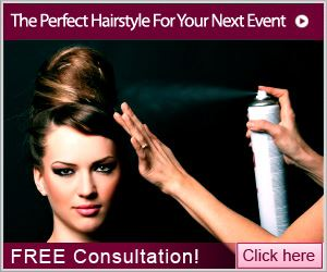 Find Your Perfect Hairstyle For An Event Consultation