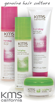 KMS hair products