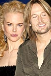 Nicole Kidman and Keith Urban hairstyles