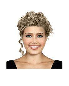 Summer bridal hairstyle
