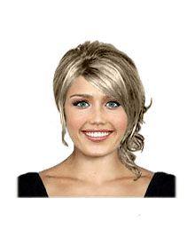Spring bridal hairstyle