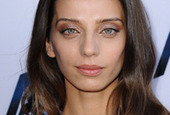 Angela sarafyan easy evening hairstyle and makeup side
