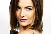 Camilla belle latest hairstyle makeup side
