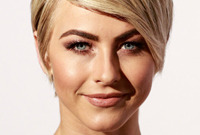 Spring hairstyle trends in action short and sleek side