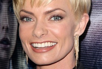 Long vs short hairstyles jaime pressly side