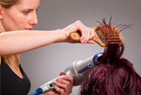 Hair stylist tips hair brushes side
