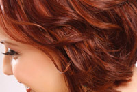 Red hair color ideas side