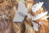Bridal hairstyle ideas side