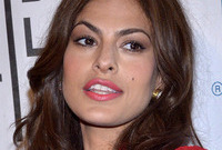Eva mendes hair and makeup side