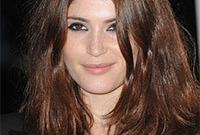Auburn hair color ideas side