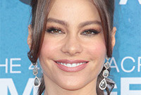 Sofia vergara hairstyles side