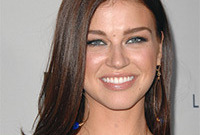 Adrianne palicki better as a brunette side