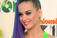 How to do katy perry colourful makeup side