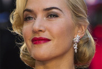 Kate winslet classic makeup style side