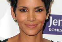Halle berry rosy glow side