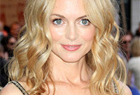 How to get heather graham loose waves side