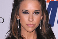 Lacey chabert sexy evening hair and makeup side