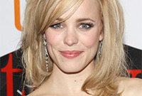 Rachel mcadams long fringe side