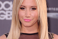 Ashley tisdale is having a makeup off day side