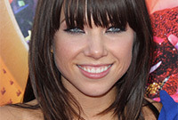 Carly rae jepsen hair and makeup side