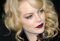 The lady is a vamp emma stone side